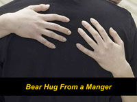 Bear Hug from a Manger