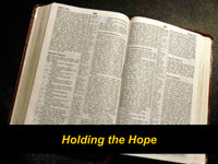Holding the Hope