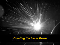 Creating the Laser Beam