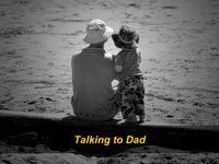 Talking to Dad
