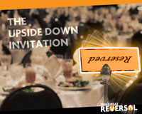 The Upside Down Invitation