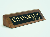The Chairman's Plan