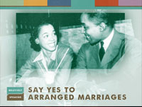 Say Yes to Arranged Marriages