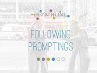 Following Promptings