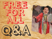 Free for All Q&A